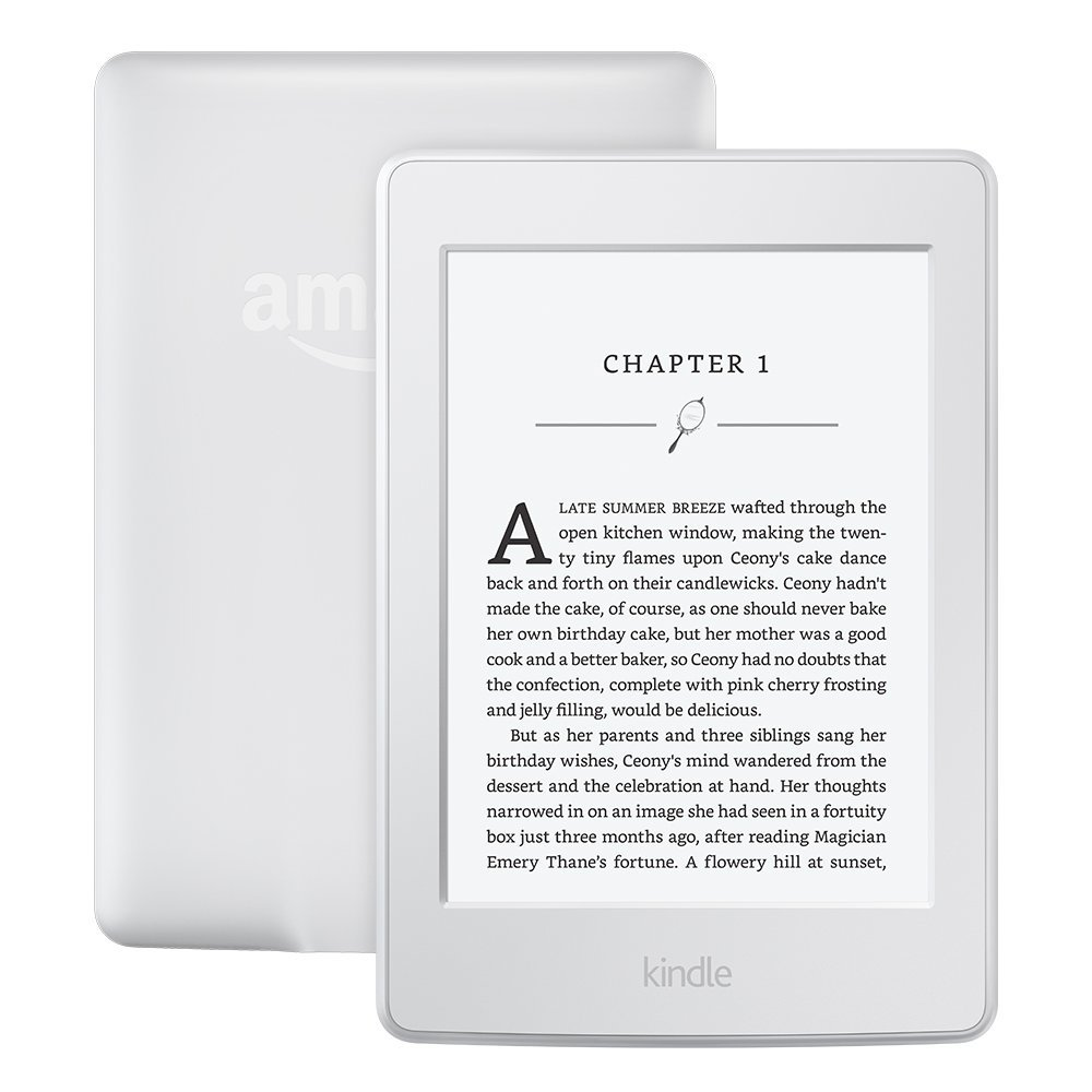 Kindle Paperwhite 3nd Generation White 4GB eBook e-ink Screen WIFI 6LIGHT Wireless Reader With built-in backlight e-Book Reader kindle paperwhite1 6 high resolution 300ppi displaywith built in light wi fi includes special offers