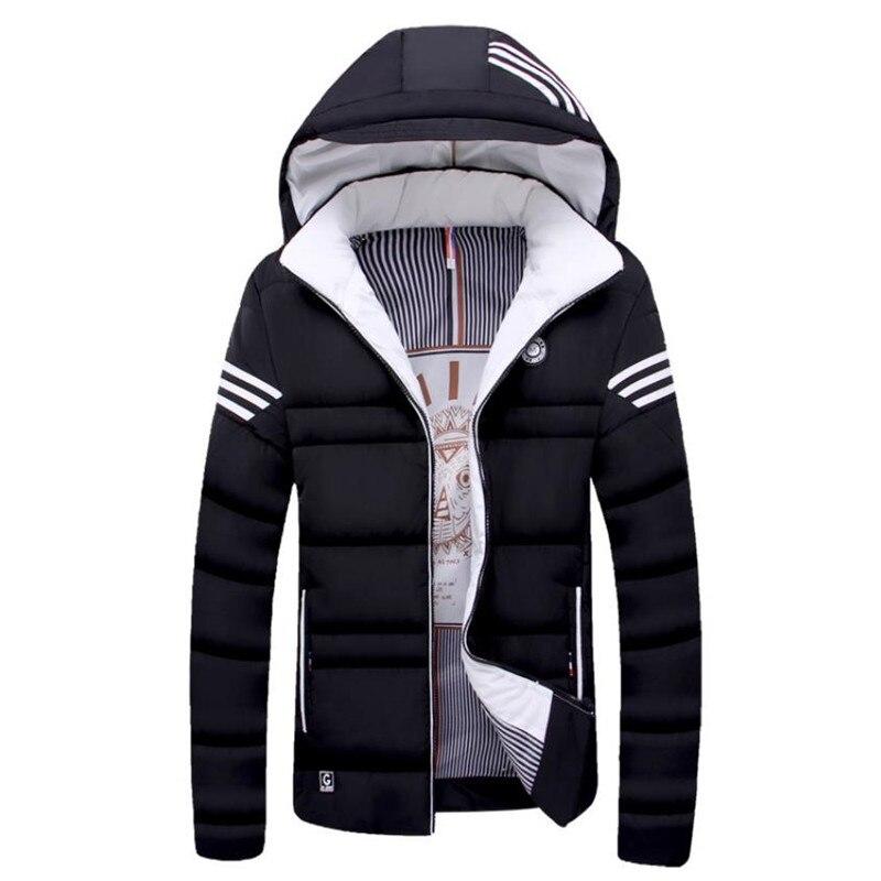 2018 зимняя куртка повседневная мужская куртка мужская теплая куртка пальто XL 4XL
