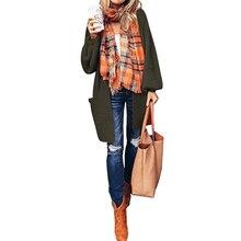 New Cardigan Feminino Long Sleeve Knit Sweater Coat Blusas De Inverno Feminina  Women Winter Clothes
