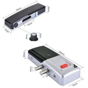Image 5 - RAYKUBE nuova serratura elettrica senza fili serratura da infilare telecomando serratura a bullone aperta