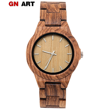 Wood Watch Women's Bracelet femme 2019 women watches Houten horloge Watch Styles art Luxury Famous Brand wood watch