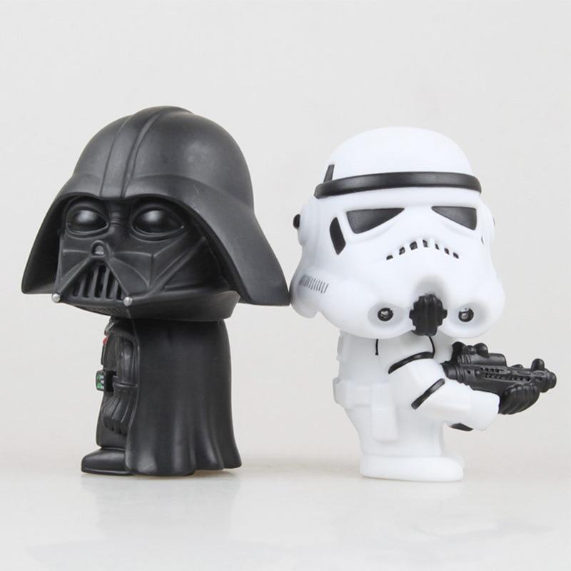 Marvel Star Wars Yoda Darth Vader Stormtrooper Action Figure - Die Zahlen Aktion und Spielzeug - Foto 5