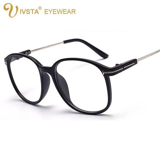 Fantastic IVSTA Vintage Spectacle Frames TF Brand Designer Clear Glasses  CS57