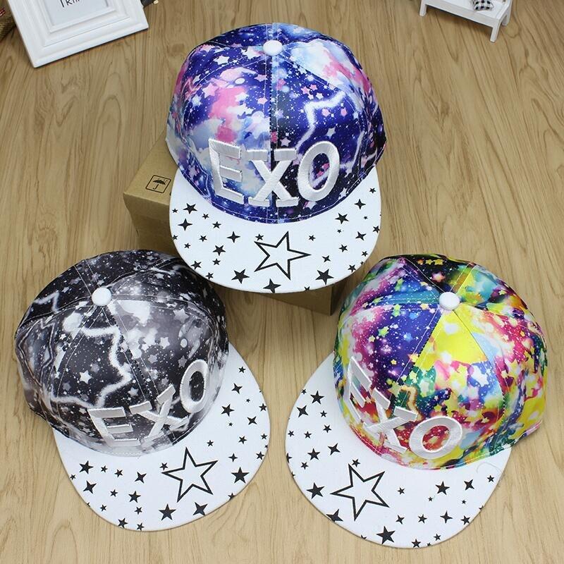 Оптовая продажа Bboy EXO письмо Gorras Snapback, Camo хип-хоп Шапки, Кости Gorras Masculino, casquette Unkut Бейсбол шапки для девочек и мальчиков