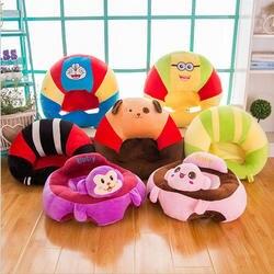 Красочные детские сиденья Поддержка сиденье мягкий диван Хлопок безопасности путешествия Автокресло Подушка Плюшевые ноги стульчик для
