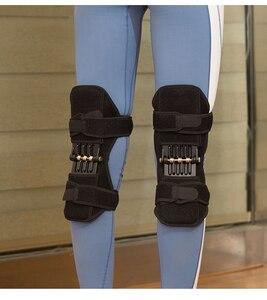 Image 2 - Gemeinsame Unterstützung Knie Pads Atmungsaktive Power Lift Gemeinsame Unterstützung Bandage Knie Pad Power Knie Stabilisator Pads Frühling Kraft Knie Booste