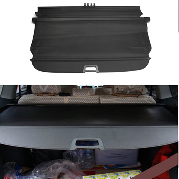 Fit for Jeep Compass 2011 2012 2013 2014 2015 Black Accessories Retractable Rear Trunk  Cargo Cover Luggage Security Shade