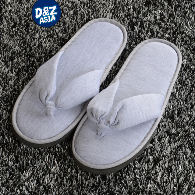100pcs/lot Five-star Hotel Club beauty salons hotels non-disposable flip-flops thickened slip home hospitality slippers