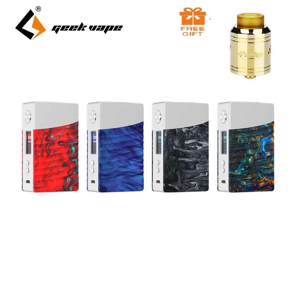 Free Tank!!! Original Geekvape NOVA MOD 200W Box Mod Vape Support Cerberus Sub Ohm Tank Electronic Cigarettes Vaporizer Vape Kit 200w 40 ohm 5