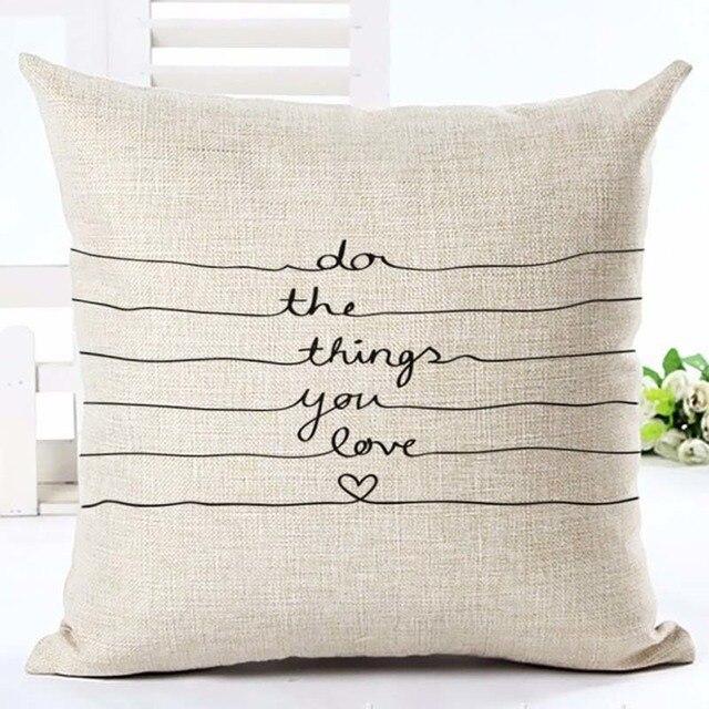 Home Linen Pillowcase Size: 45cm WT0057 Color: 2