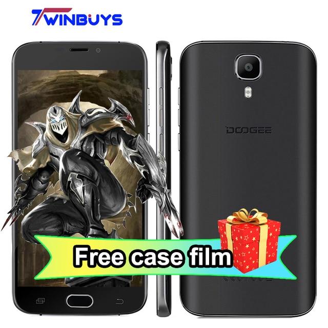 "Doogee X9 Pro Mobile Phone fingerprint 5.5"" MTK6737 Quad Core Android 6.0 2GB RAM 16GB ROM Metal 3000mAh 13MP 4G LTE Smartphone"