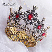 Modabelle Baroque Crystal Wedding Crown 2018 Wedding Accessories Joyeria New Coming Popular Wedding Decorations