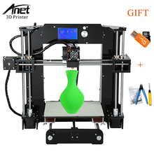 Easy Assemble Anet A6 A8 A3S A2 3D Printer Kit Auto Leveling Big Size Reprap i3 DIY Printers With Hotbed Filament Tools cheap auto leveling prusa i3 3d printer kit diy anet a8 large printing size with aluminum hotbed 1roll filament 8gb card lcd