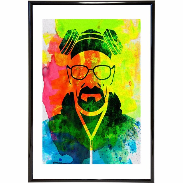 Colorful Breaking Bad Vintage Art Painting Canvas Poster Wall Decor ...