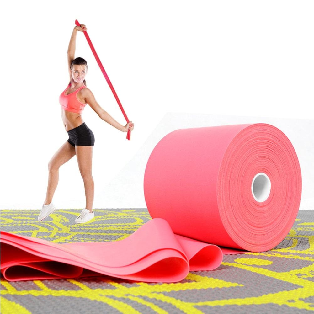 Resistance Bands Hearty 1500cm*7.3cm Elastic Yoga Pilates Rubber Stretch Exercise Band Arm Back Leg Fitness Tresistance Band Free Shipping