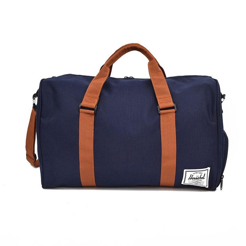 Sac de voyage de courte distance, sac de voyage masculin 3 couleurs oxford sac de voyage de grande capacité, sac imperméable simple de bagage.