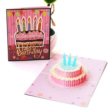Birthday Card Three Dimensional Staff Custom Send Boys Korean Creative Handmade Gift Generation Music Blessing