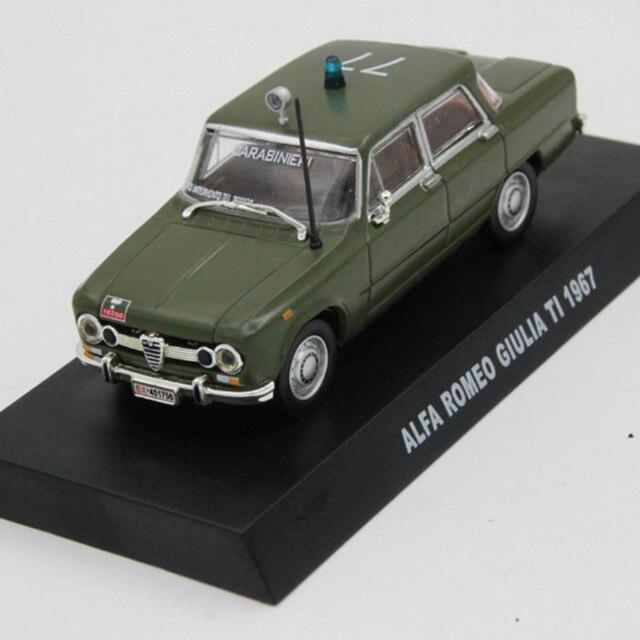 ALFA ROMEO GIULIA TI Police Cars Diecast Models Toys - Alfa romeo scale models