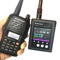 Suracom-contador de frecuencia portátil 100% Original, SF-401Plus, 27MHz-3GHz, con CTCSS/decodificador DCS (Radio Digital analógica y DMR)