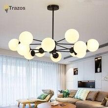 Modern LED Ceiling Chandelier Lighting Living Room Bedroom Chandeliers Creative Home Lighting Fixtures AC110V/220V Free Shipping цена в Москве и Питере