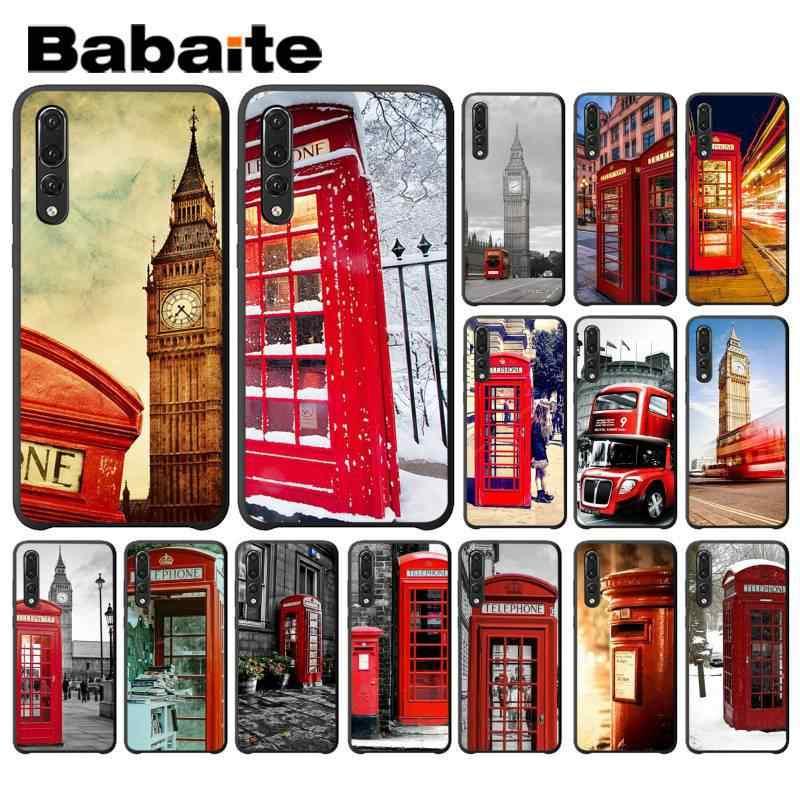 Babaite Londres bus angleterre téléphone vintage Téléphone étui pour huawei P9 P10 Plus Mate9 10 Mate10 Lite P20 Pro Honor10 View10