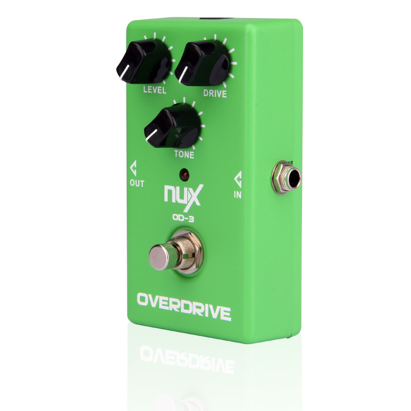 NUX OD-3 Overdrive Electric Guitar Effect Pedal Ture Bypass Green High Quality Guitar Effect Pedal