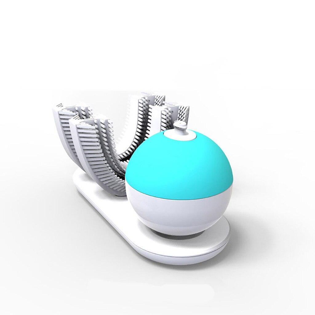 Brosse à dents électrique pour adultes 360 mise à niveau Rechargeable automatique brosse à dents blanchiment des dents FDA/IPX7 charge sans fil F4.11 - 5