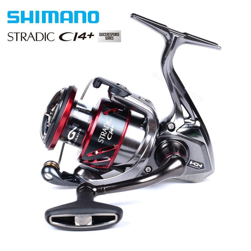 Shimano stradic CI4 + 2500HG C3000HG spinning Pesca carrete 6 + 1BB x-ship Hagane Gear agua salada fising carrete