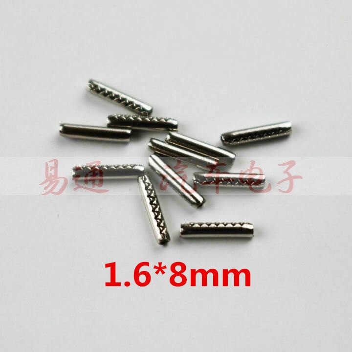 1.6pin stałe do kluczy samochodowych akcesoria szpilka ze stali nierdzewnej dla odwróć składany 8mm długość klucz ustalone dla klapki klucz