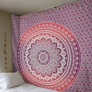 Image 5 - CAMMITEVER 大曼荼羅インドタペストリー壁掛けボヘミアンビーチタオルポリエステル薄い毛布ヨガショールマット 210 × 150 センチメートル