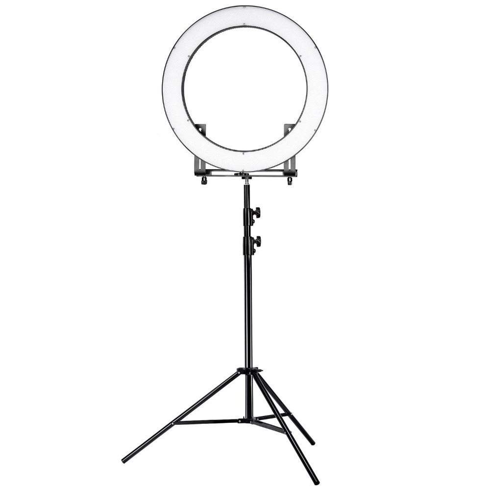 Makeup Ring And Lights: Neewer DVR 160TVC 19 Inches Ring Light And Stand Lighting