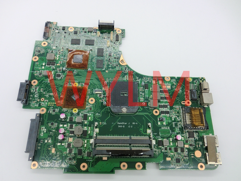 free shipping NEW original N53TA  motherboard MAIN BOARD mainboard REV 2.0 USB 3.0  216-0810005   100% Tested Working free shipping brand original k55vm laptop motherboard main board 69n0m2m11c06 100% tested working well