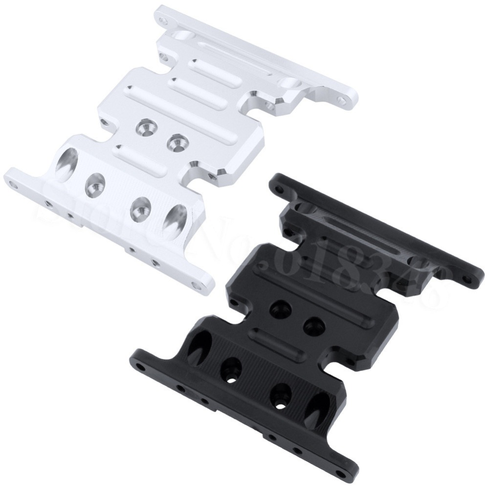 Metal Aluminum Alloy Center Skid Plate For Axial SCX10 Rock Crawler 1/10 RC Hobby Car Parts Hop Up Parts
