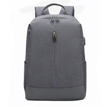 2019 new Anti-thief fashion men multifunctional waterproof backpack 15.6 inch computer pouch man USB charging travel bag