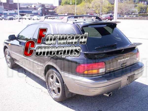 For Carbon Fiber 93 01 Impreza Wagon Gf Wrx Sti Rear Wing