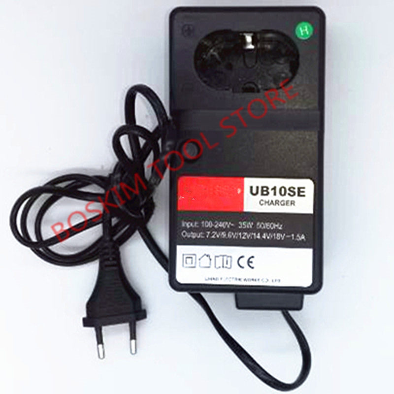 AC100-240V  Multifunction Charger Replacement For HITACHI UC18YG DC 7.2V 9.6V 12V 14.4V 18V Eletric Tools Charger