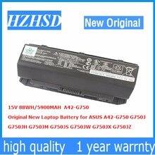 15V 88WH 5900MAH Original New Laptop Battery for ASUS A42 G750 G750J G750JH G750JM G750JS G750JW