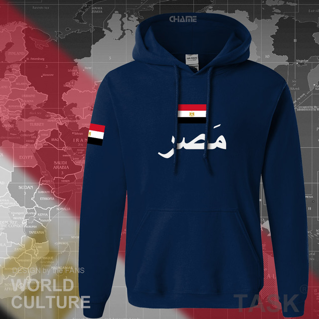 Arab Republic of Egypt hoodies men sweatshirt sweat new hip hop streetwear tracksuit nation footballer sporting EGY Egyptian 1