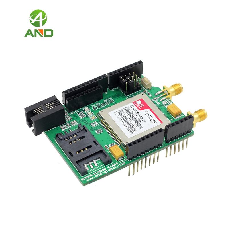 € 49 82 |Bouclier 3G compatible avec Aduino, Raspberry Pi, SIM5320E à bord  dans Circuits intégrés de Composants électroniques et Fournitures sur