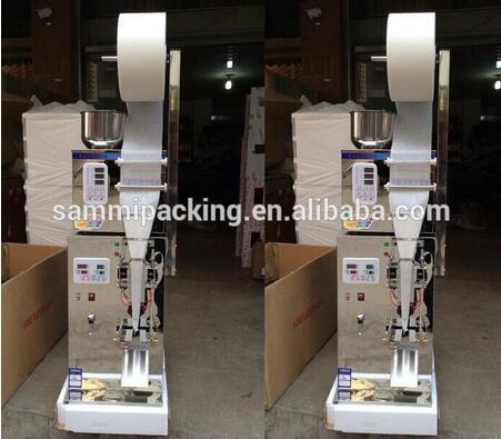 Nouveau design feuille film sac faisant la machine, petit thé sac d'emballage machine