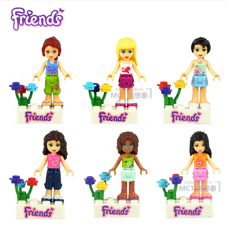 Lego Building Toys Lego Friends Minifigure Girls Pick Your Own