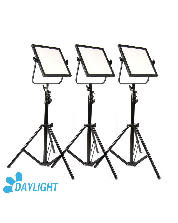 CAME TV C518D Daylight LED Edge Light (3 Piece Set) Video