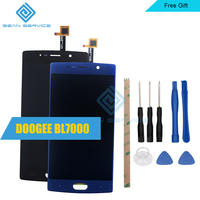 5.5inch For DOOGEE BL7000 LCD Display and Touch Screen Digitizer Assembly 1920X1080 Tools+ Adhesive in Stock