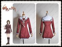 HOT Anime Game Hiiro No Kakera Kasuga Tamaki Cosplay Dress Costume Women Girl Uniform Lolita Japanese