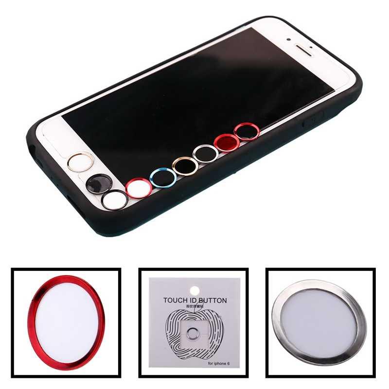 สติกเกอร์ปุ่ม Home Protector ปุ่มกด Keycap สำหรับ IPhone 5s 5 5 5 5 5 5 6 6 S 7 8 PLUS สนับสนุนลายนิ้วมือปลดล็อค Touch ID