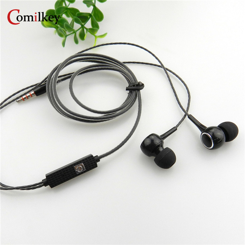 Comilkey JM21 In-ear Earphone Colorful Headset Hifi Earbuds Bass Earphones High Quality Ear phones for Phone Birthday Gift 100% original high quality stereo bass headset in ear earphone handsfree headband 3 5mm earbuds for phone mp3 player