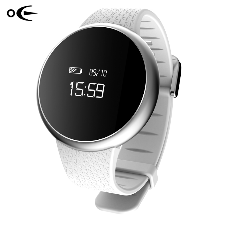 ФОТО OE Sport Men Smart Watch Bluetooth Heart Rate Monitor Blood Prssure Waterproof Smartwatch Fitness Tracker For Android IOS Phone