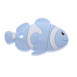 Image 5 - חמוד ליצן דגים 6pcs סיליקון תינוק נשכן דגי ליצן Bpa משלוח לעיסה תינוק בקיעת שיניים סיעוד צעצועי DIY מוצץ שרשרת תליון