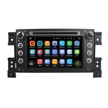 7 Pulgadas Quad Core HD1024 * 600 Android 5.1 Reproductor de DVD Del Coche Para Para SUZUKI Vitara 2005-2011 Libre de 8 GB MAPA Tarjeta WIFI Estéreo Multimedia