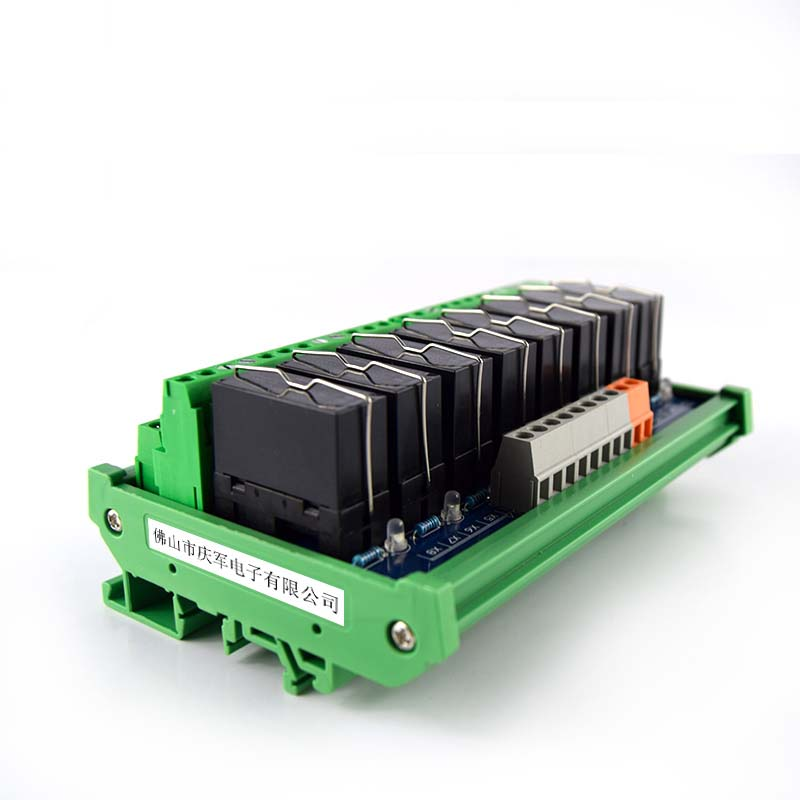 8 way Fujitsu relay dual group module driver board control board compatible with NPN/PNP module PLC amplifier board